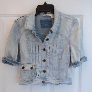DKNY Jeans Crop Denim Jacket